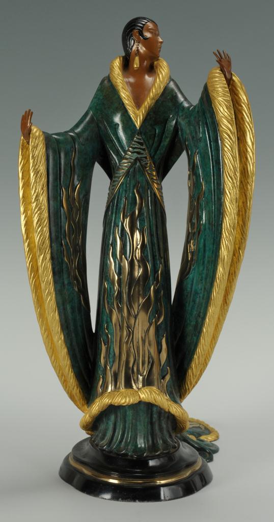 Lot 175: Original Erte Bronze, Femme De Luxe