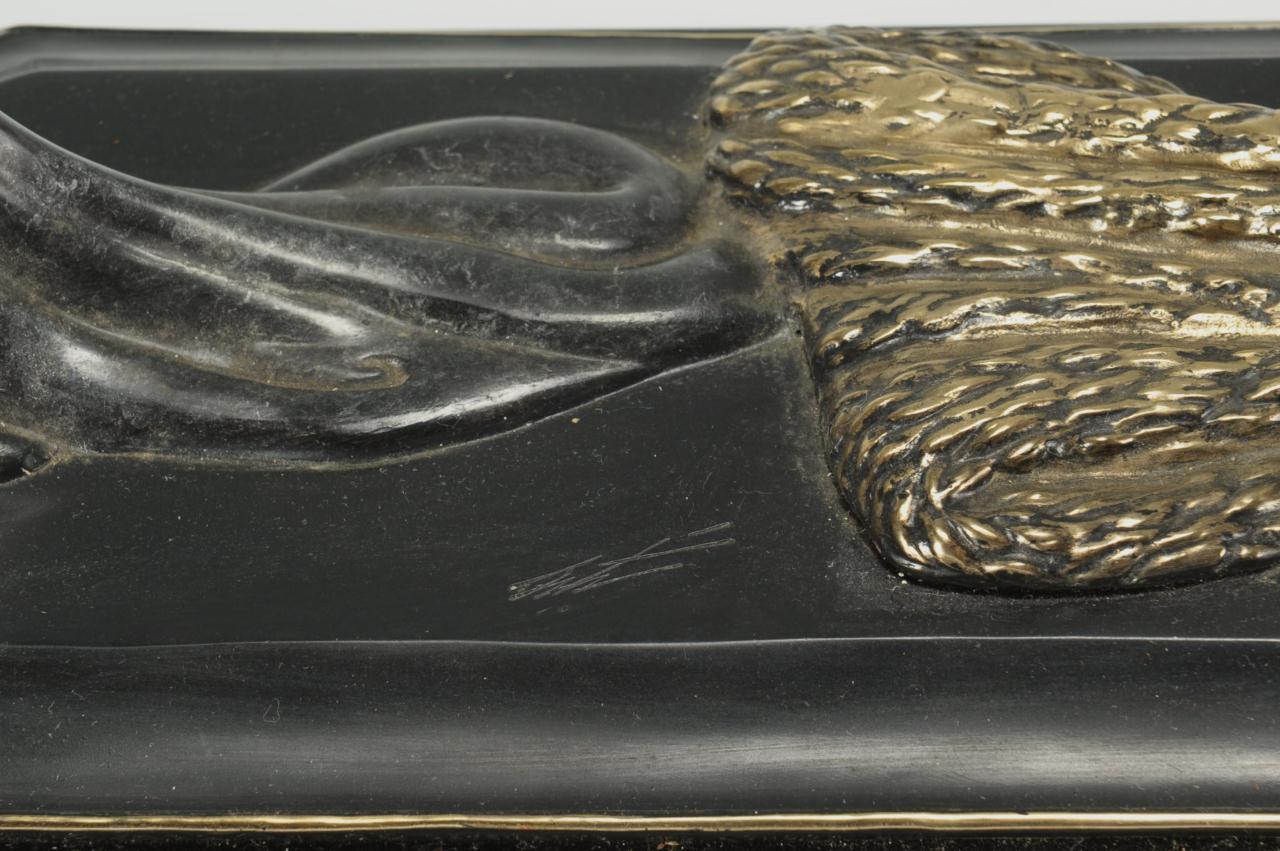 Lot 176: Original Erte Bronze, Duetto