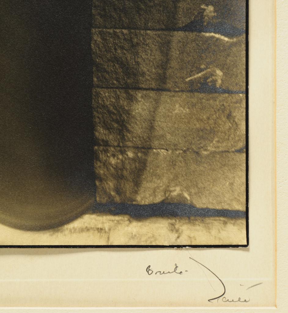 Lot 193: Margaret Bourke White Photograph, Diamond Edge