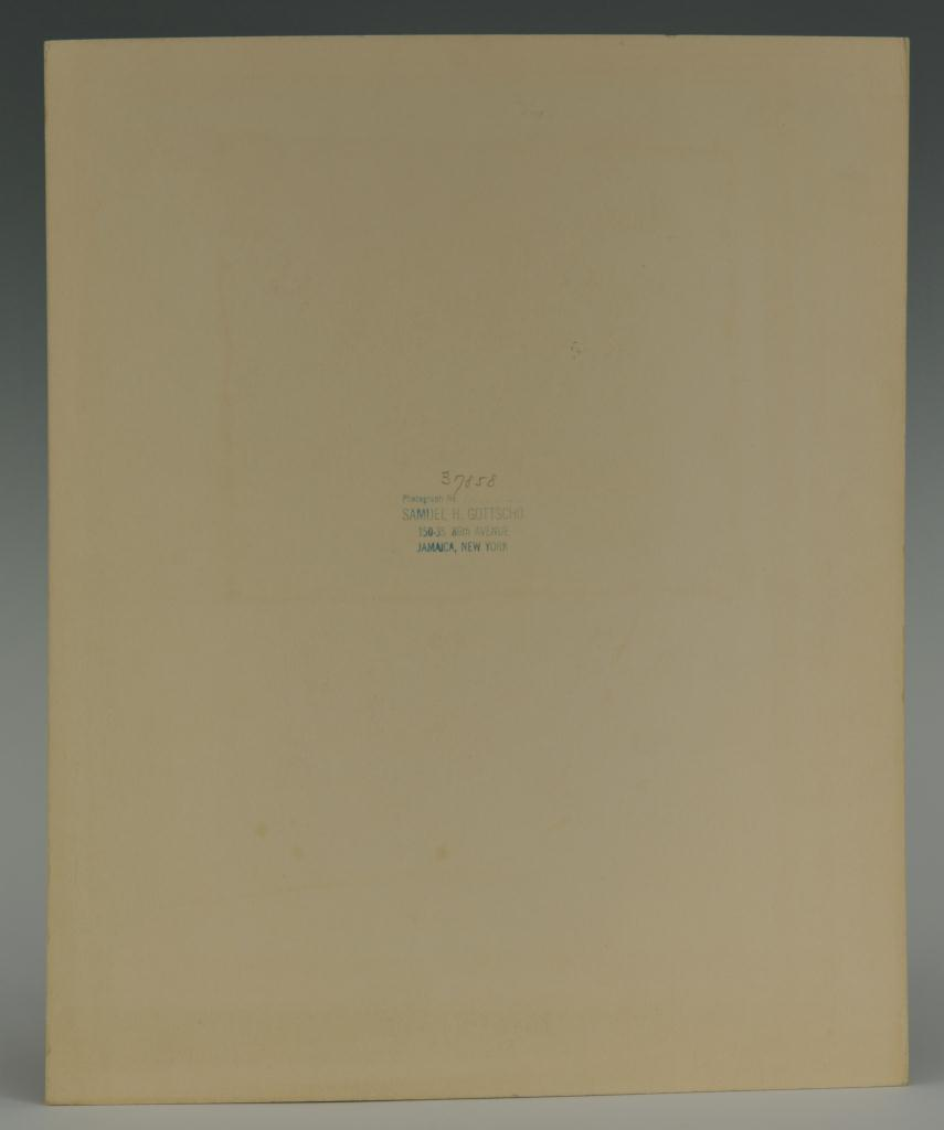 Lot 194: Samuel H. Gottscho Gelatin Silver Print
