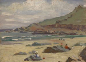 Lot 204: Russian School, oil on board seascape
