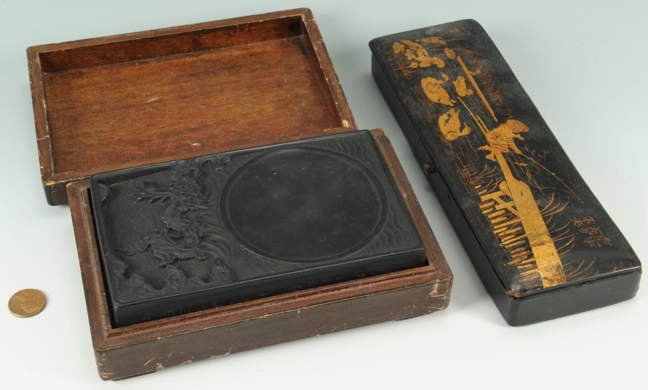 Lot 211: 2 Chinese Desk Items
