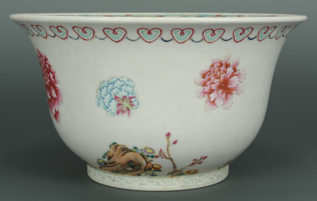 Lot 221: Chinese Porcelain Jardiniere
