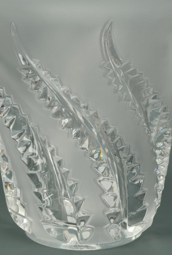 Lot 232: Lalique Fern Vase