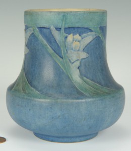 Lot 238: Newcomb College Art Pottery Vase