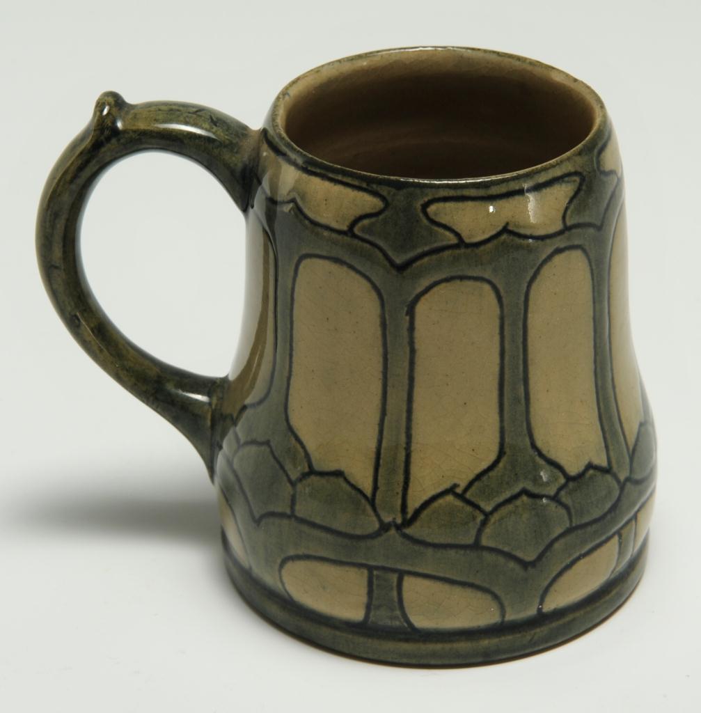 Lot 239: Newcomb College Art Pottery Mug, High Glaze