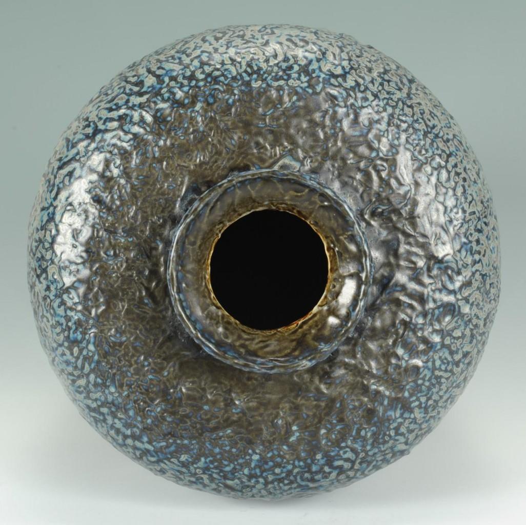 Lot 240: Large Tiffany Favrile Pottery Vase