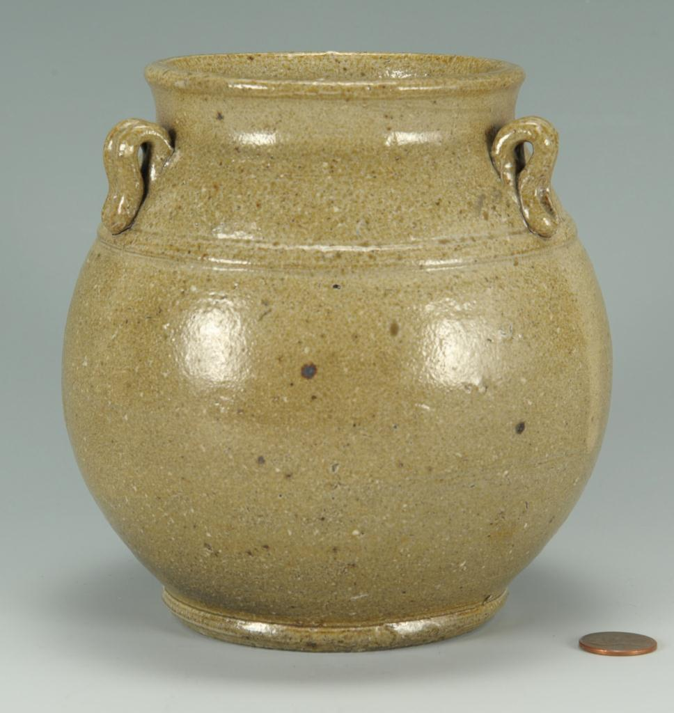 "Lot 249: Early NC Jugtown ""Sung"" Vase"