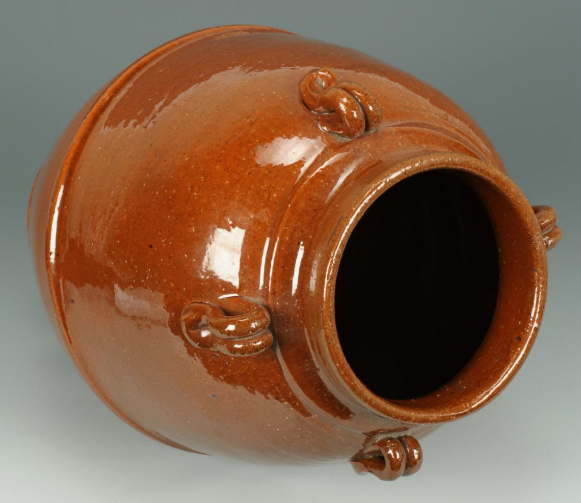 Lot 253: NC Jugtown Pottery Vase, Ben Owen