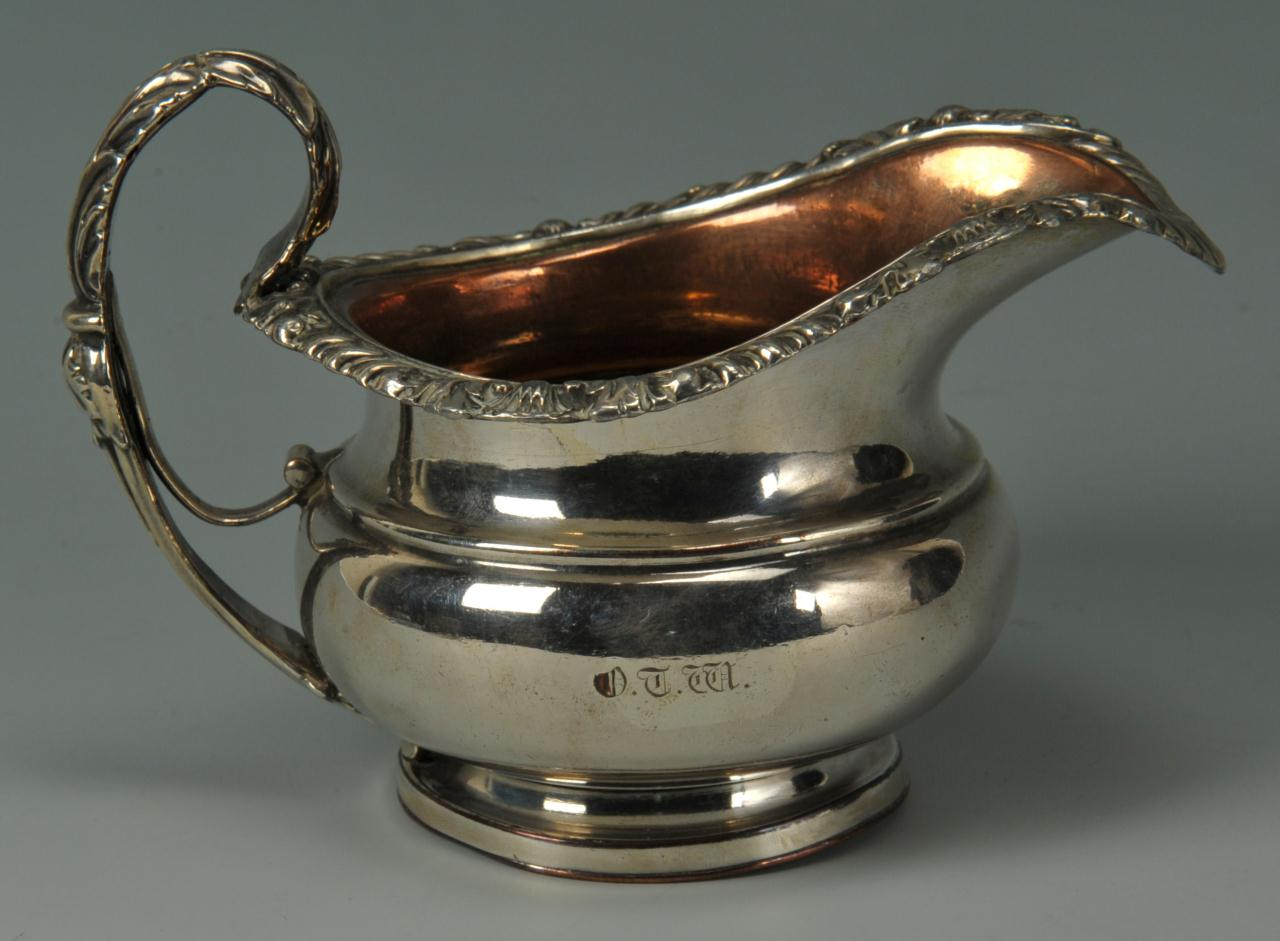 Lot 259: Old Sheffield Tea Service inc. Matthew Boulton