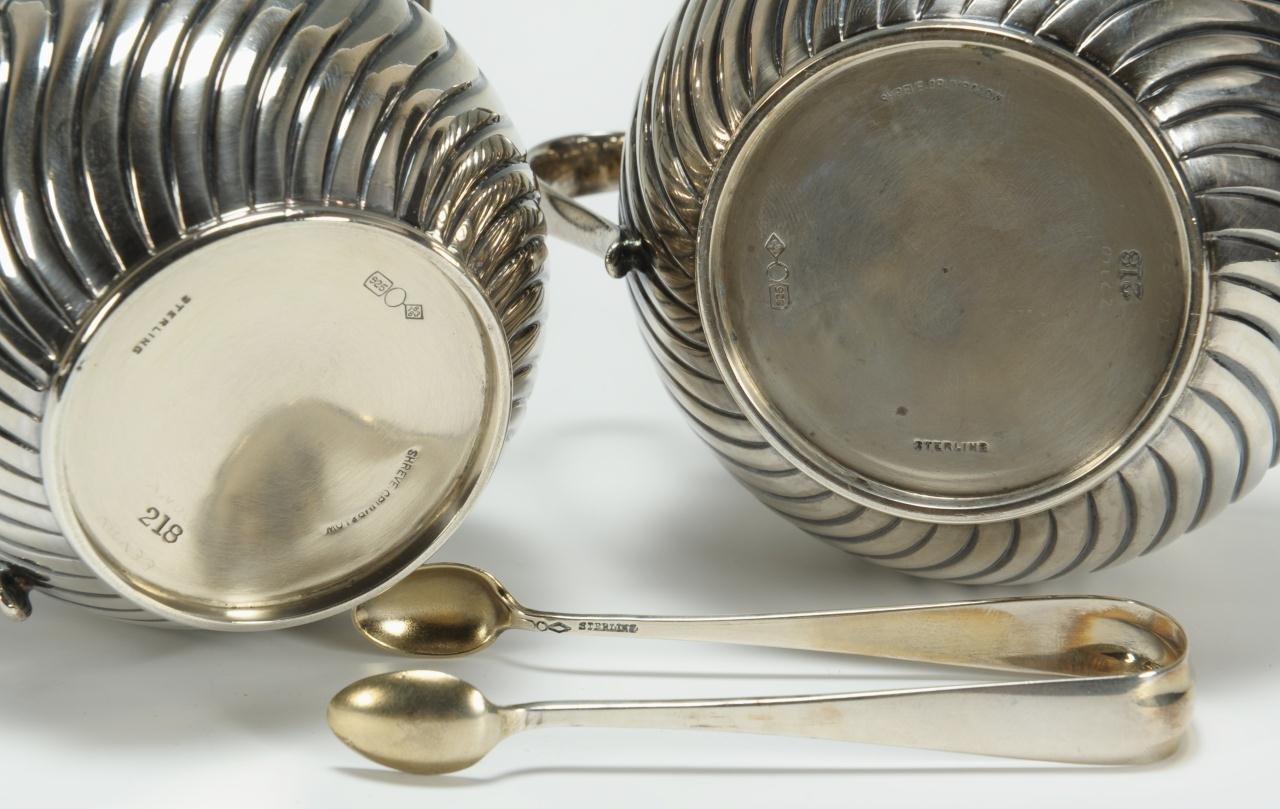 Lot 265: Shreve Crump & Lowe Presentation Silver Set