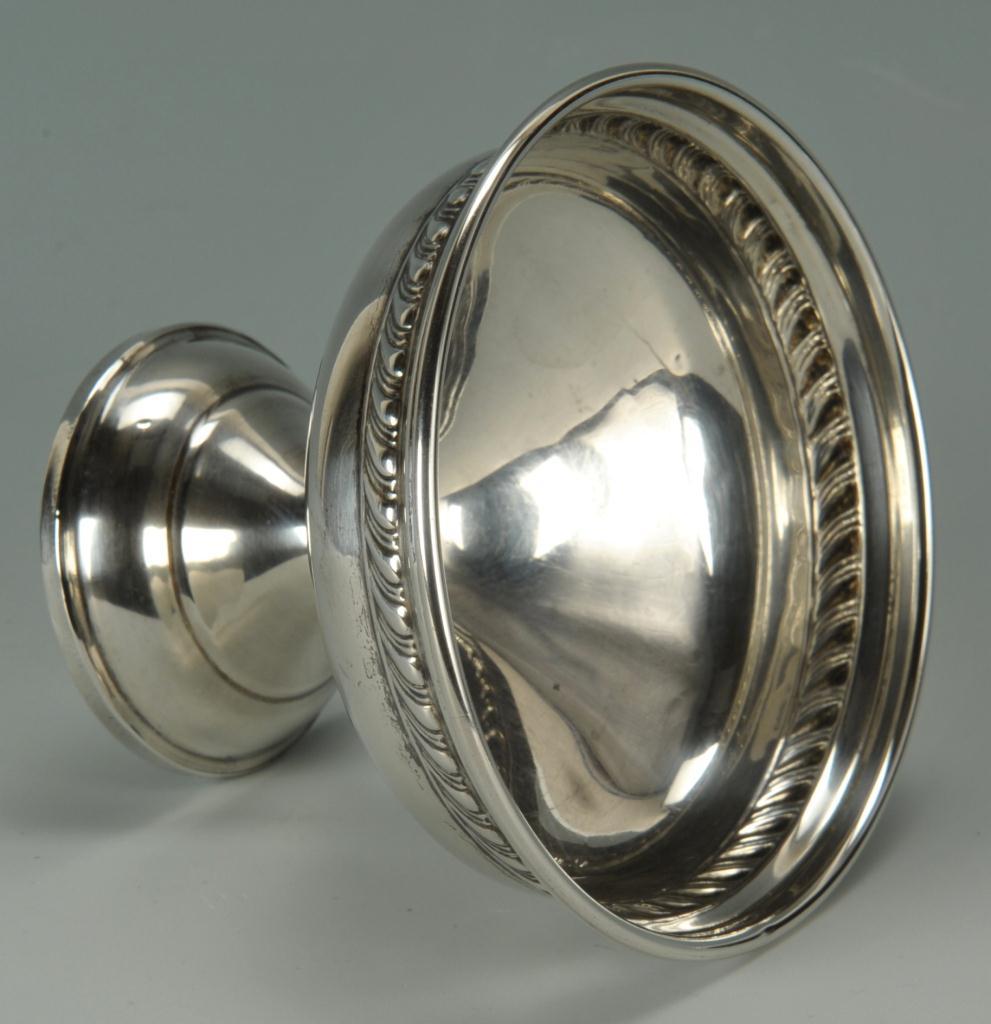 Lot 270: Sterling silver water goblets & sherberts, 10 pcs.