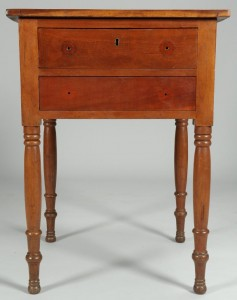 Lot 280: East Tennessee Two Drawer Stand