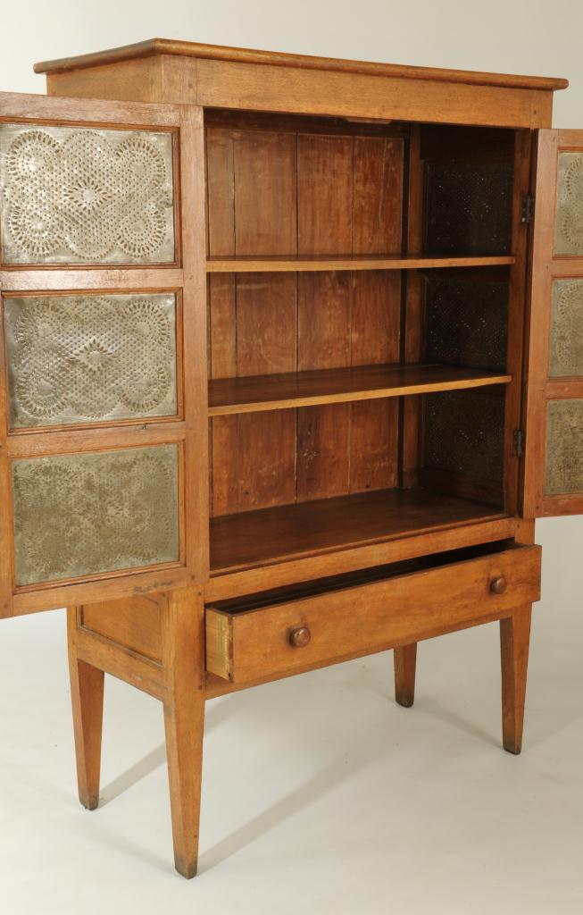 Lot 284: Middle Tennessee Walnut Pie Safe