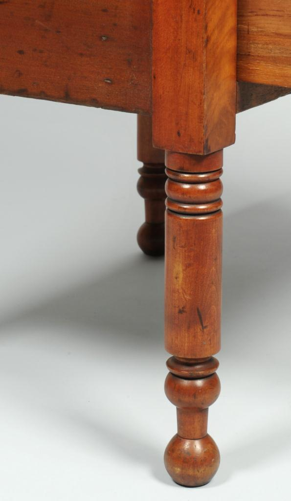 Lot 285: Sheraton Sugar Table or Two Drawer Stand