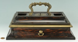 Lot 291: English Desktop Writing Stand
