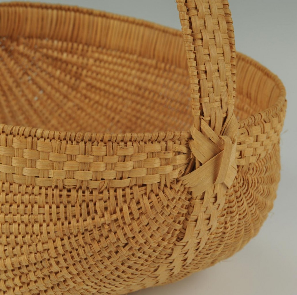 Lot 295: 8 graduated TN baskets inc. Mary Prater
