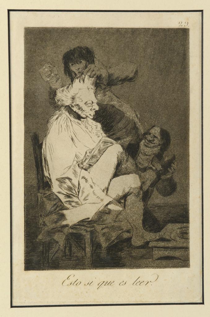 Lot 317: 3 Goya Etchings from Los Caprichos