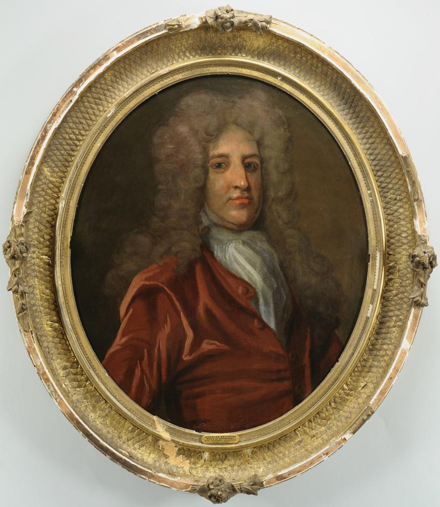 Lot 327: Portrait of Charles Seymour, after Kneller