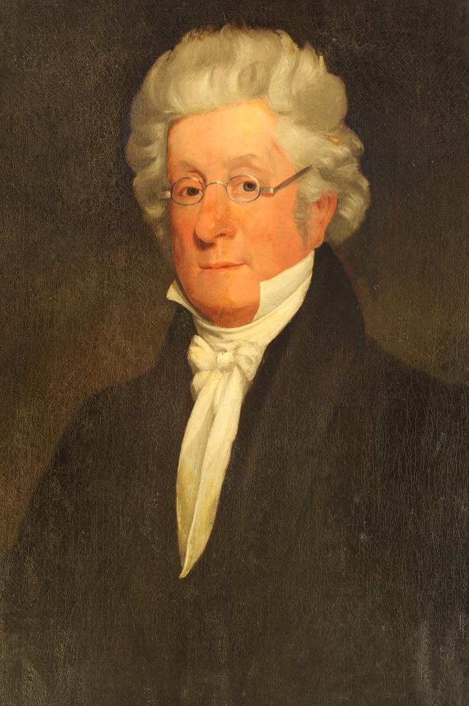 Lot 330: English School, Portrait of William Ryan, 19th c.