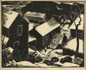 Lot 338: Howard Thomas Wood Block, Nauvoo Hollow