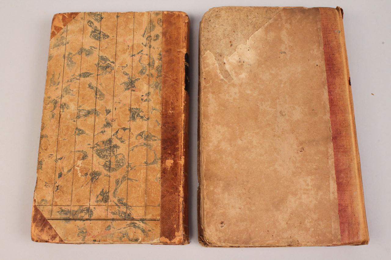 "Lot 346: Charles Dickens ""Pickwick Club,"" 1st US Ed., 2 vol"
