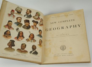 Lot 352: 2 books: Mitchell's Atlas and Maury's Geography - Image 2