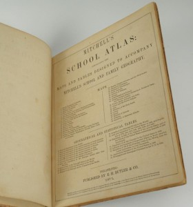 Lot 352: 2 books: Mitchell's Atlas and Maury's Geography - Image 4