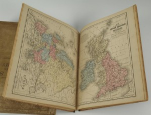 Lot 352: 2 books: Mitchell's Atlas and Maury's Geography - Image 5