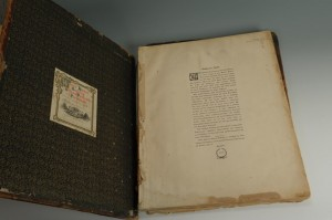 Lot 353: Large Folio Book, Portraits of the Presidents - Image 2