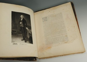 Lot 353: Large Folio Book, Portraits of the Presidents - Image 4