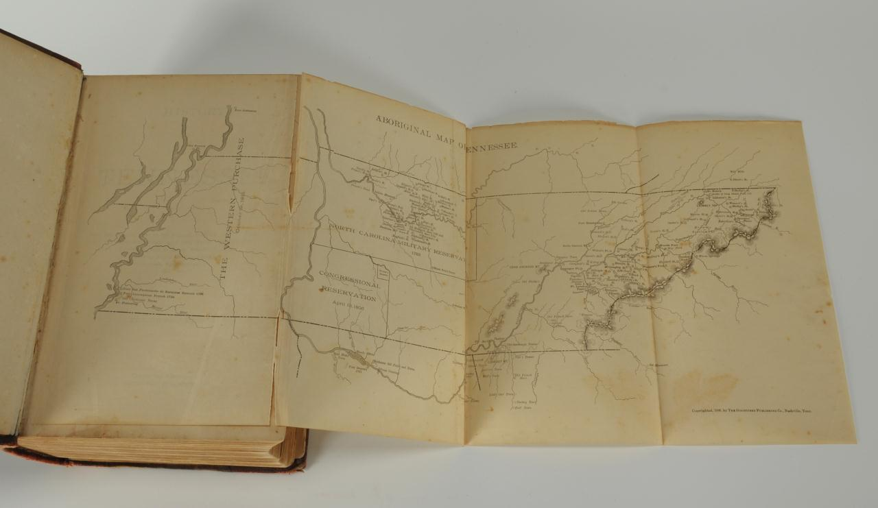 Lot 361: History of Tennessee Illustrated 1887