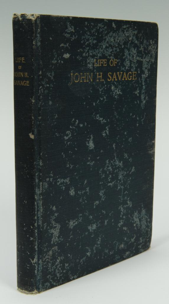 Lot 364: The Life of John Savage Autobiography