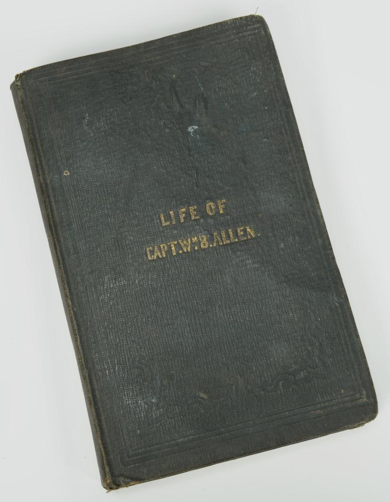 Lot 365: The Life and Character of Capt. Wm. B. Allen