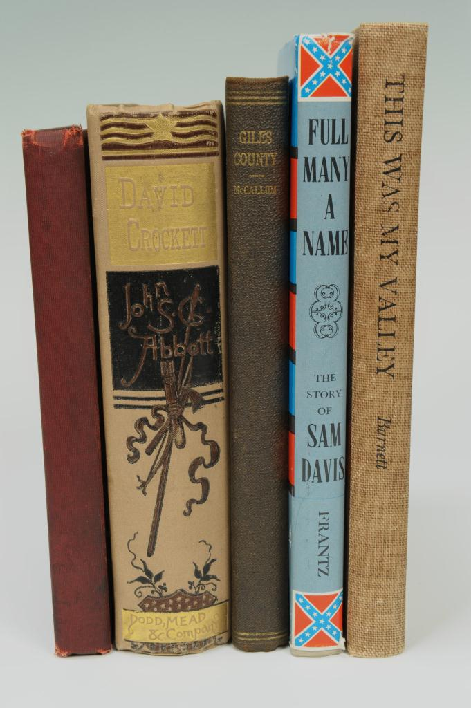Lot 366: Lot of 5 books, Southern historical subjects