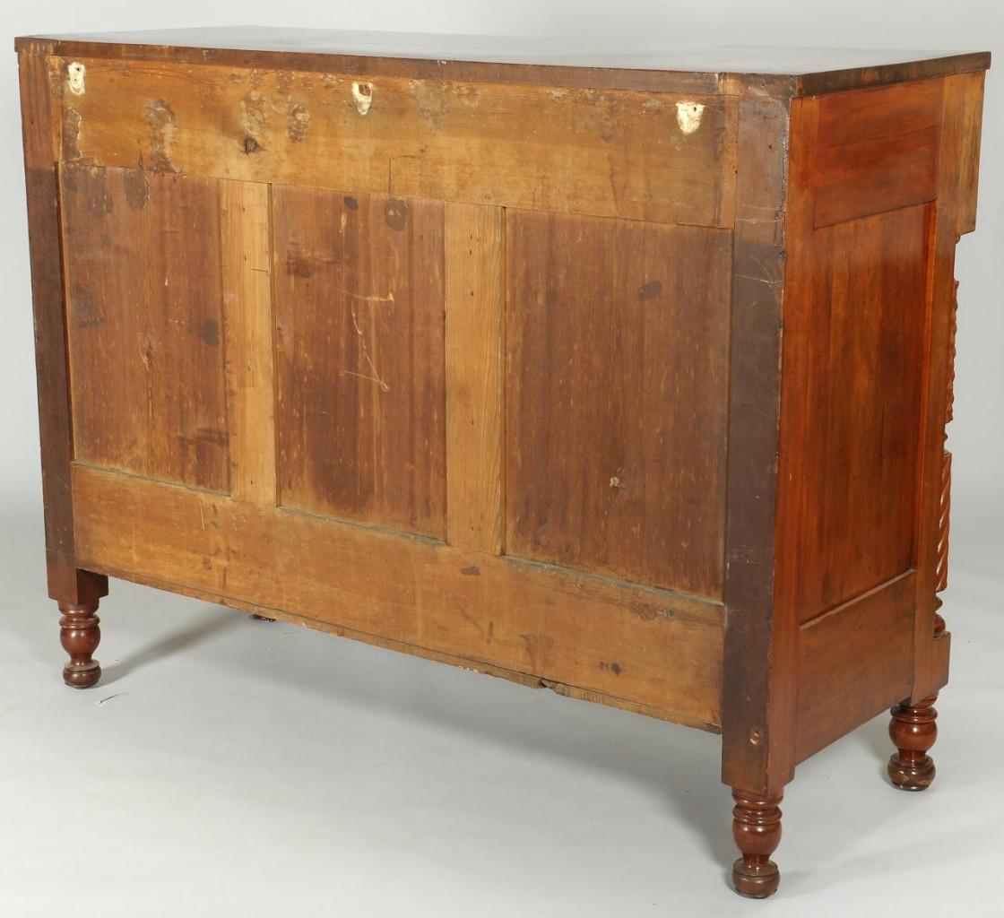 Lot 381: Mahogany Classical Sideboard