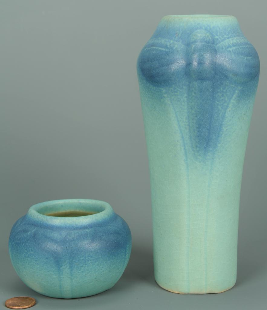 Lot 411: Two Van Briggle Art Pottery Vases