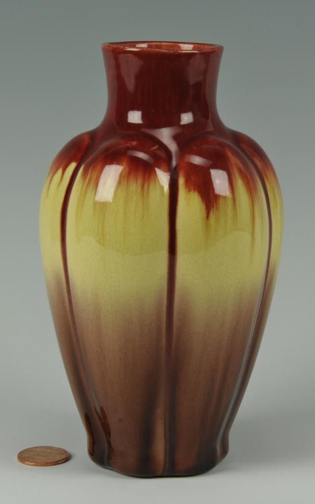 Lot 416: Bretby Art Pottery Flambe vase (Tooth and Co.)