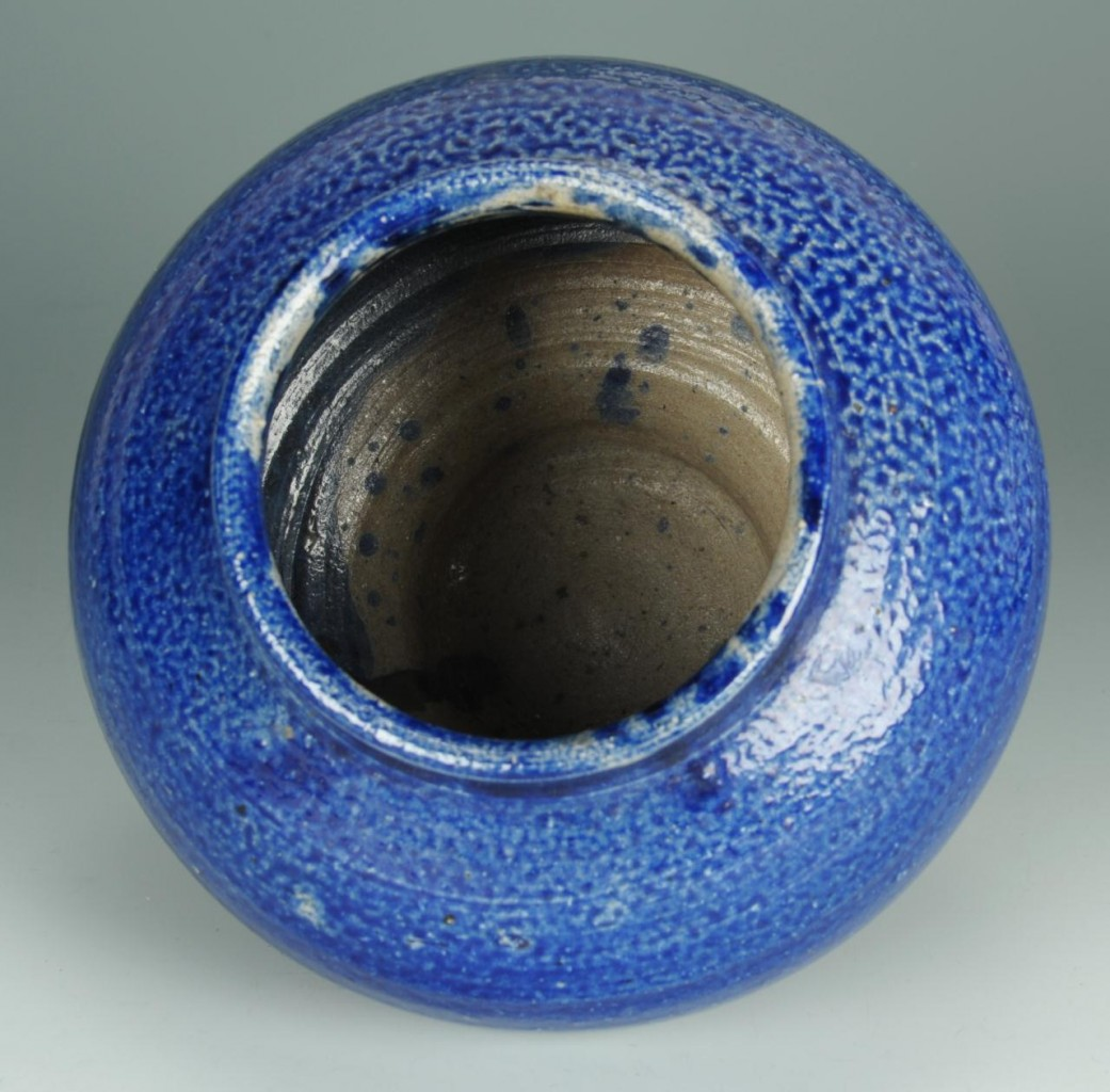 Lot 417: NC North State Pottery Footed Vase
