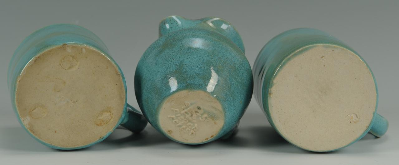 Lot 420: NC Pisgah Forest Pottery, 10 pcs.