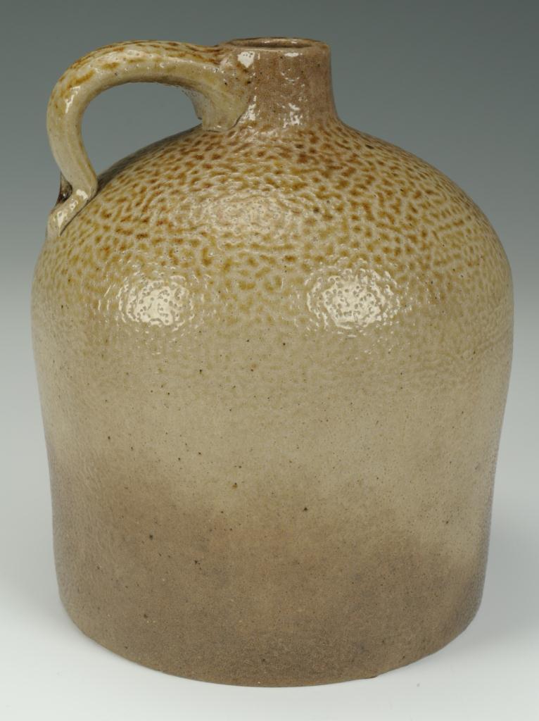 Lot 422: Alabama Salt Glazed Pottery Jug