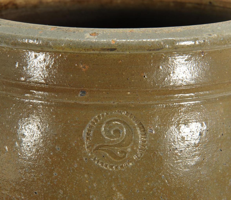 Lot 424: East TN Pottery Jar, Weaver Brothers