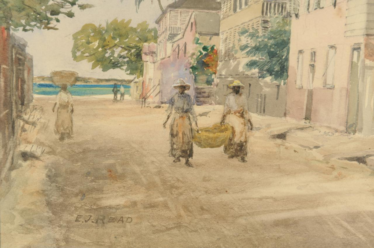 Lot 44: Elmer Joseph Read Watercolor