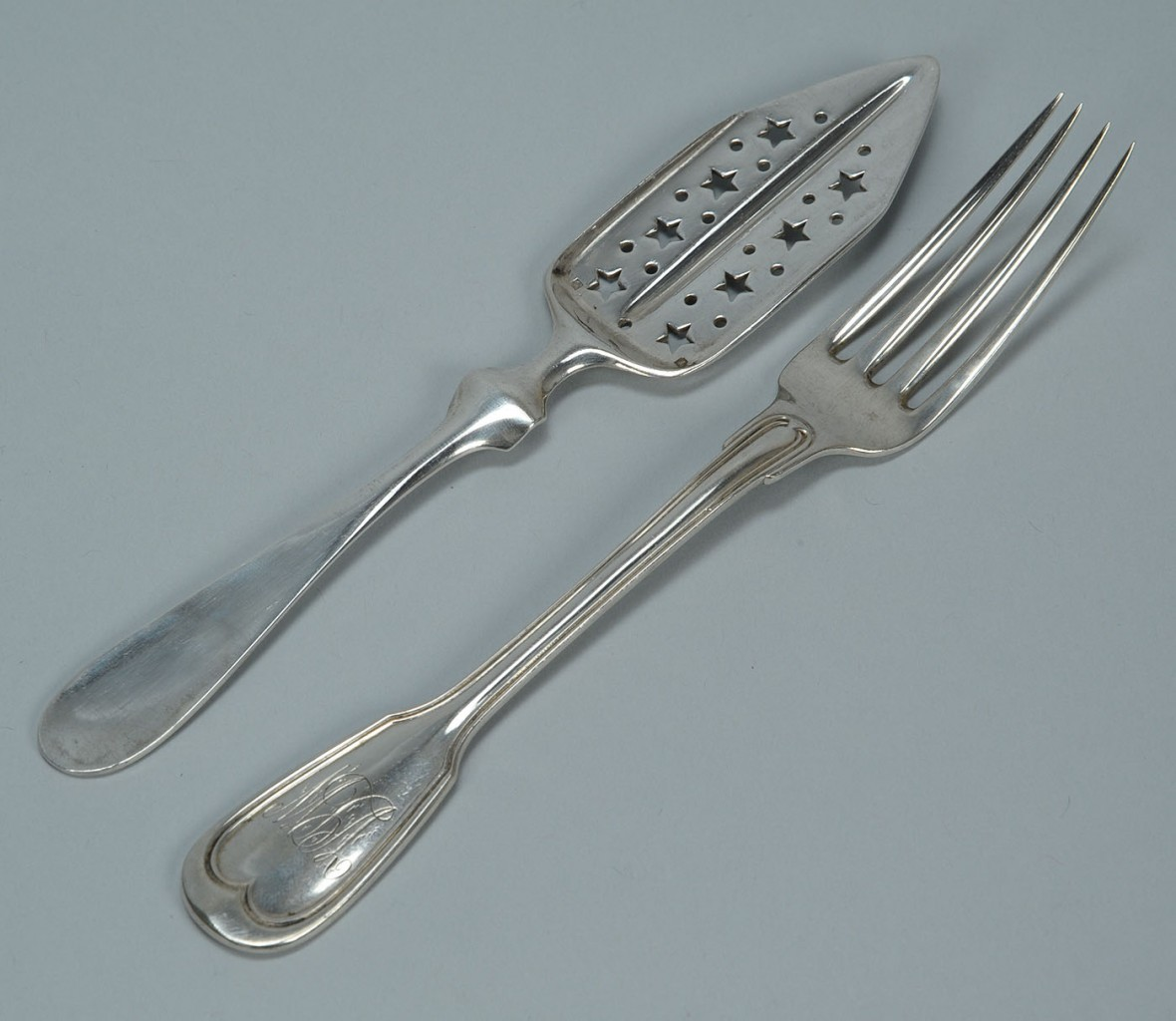 Lot 463: 11 Pieces Continental Silver Including Absinthe sp