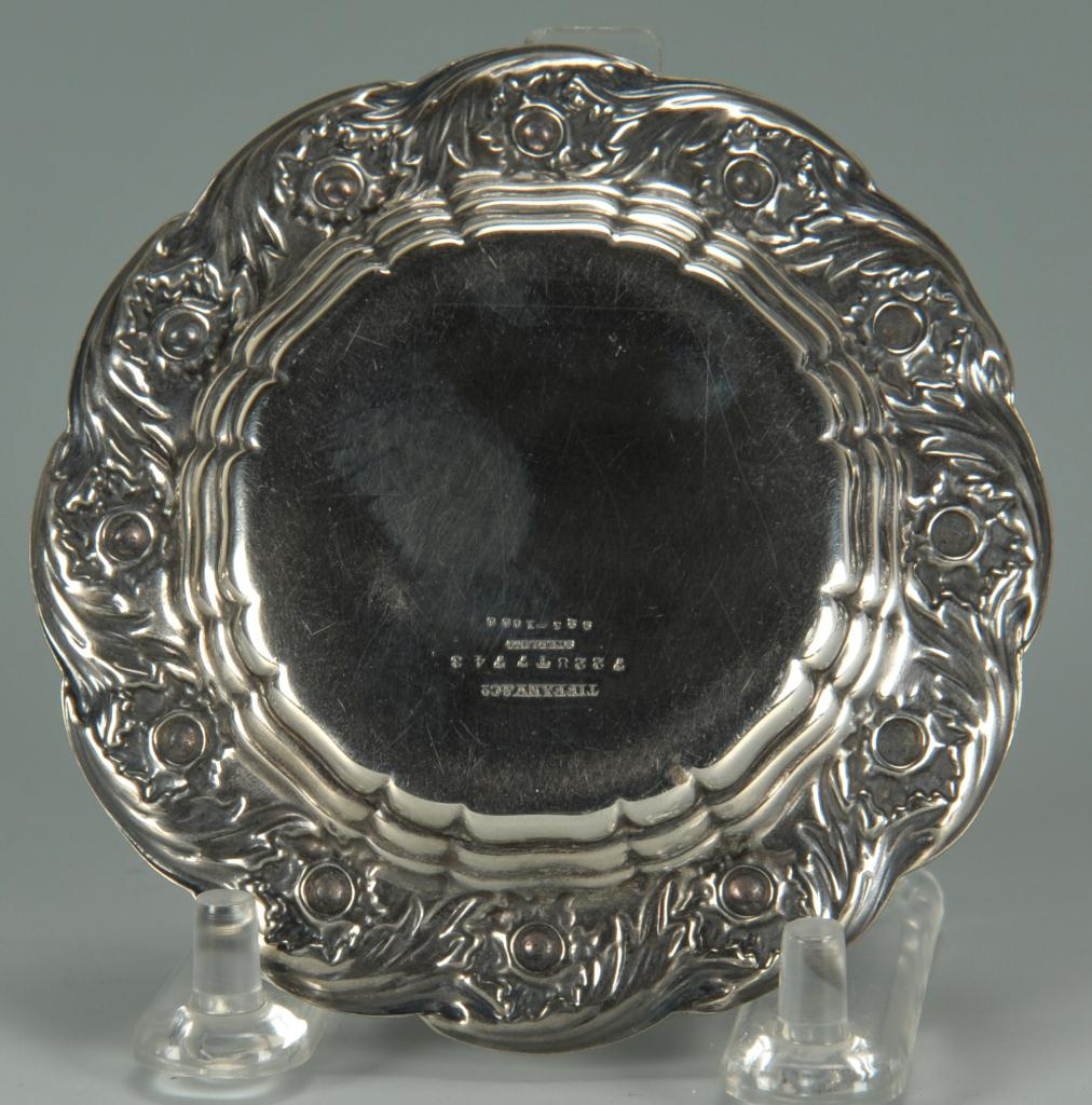 Lot 469: 3 pcs silver hollowware inc. Tiffany, Whiting