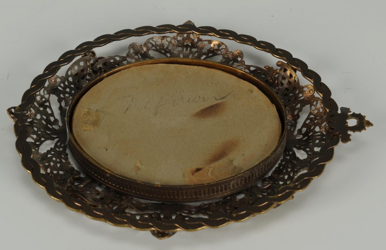 Lot 496: 4 Miniature Portraits inc. Napoleon, Mary Stuart