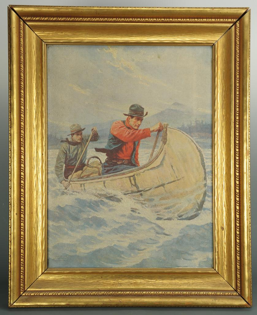 Lot 500: Chromolithograph after Philip Goodwin
