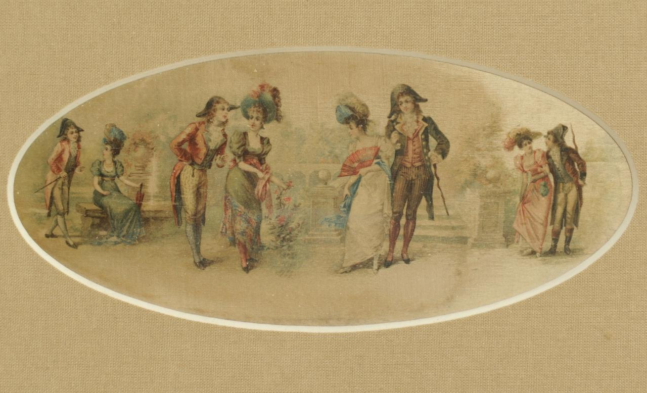 Lot 512: Four European 18th & 19th c. Genre Scenes