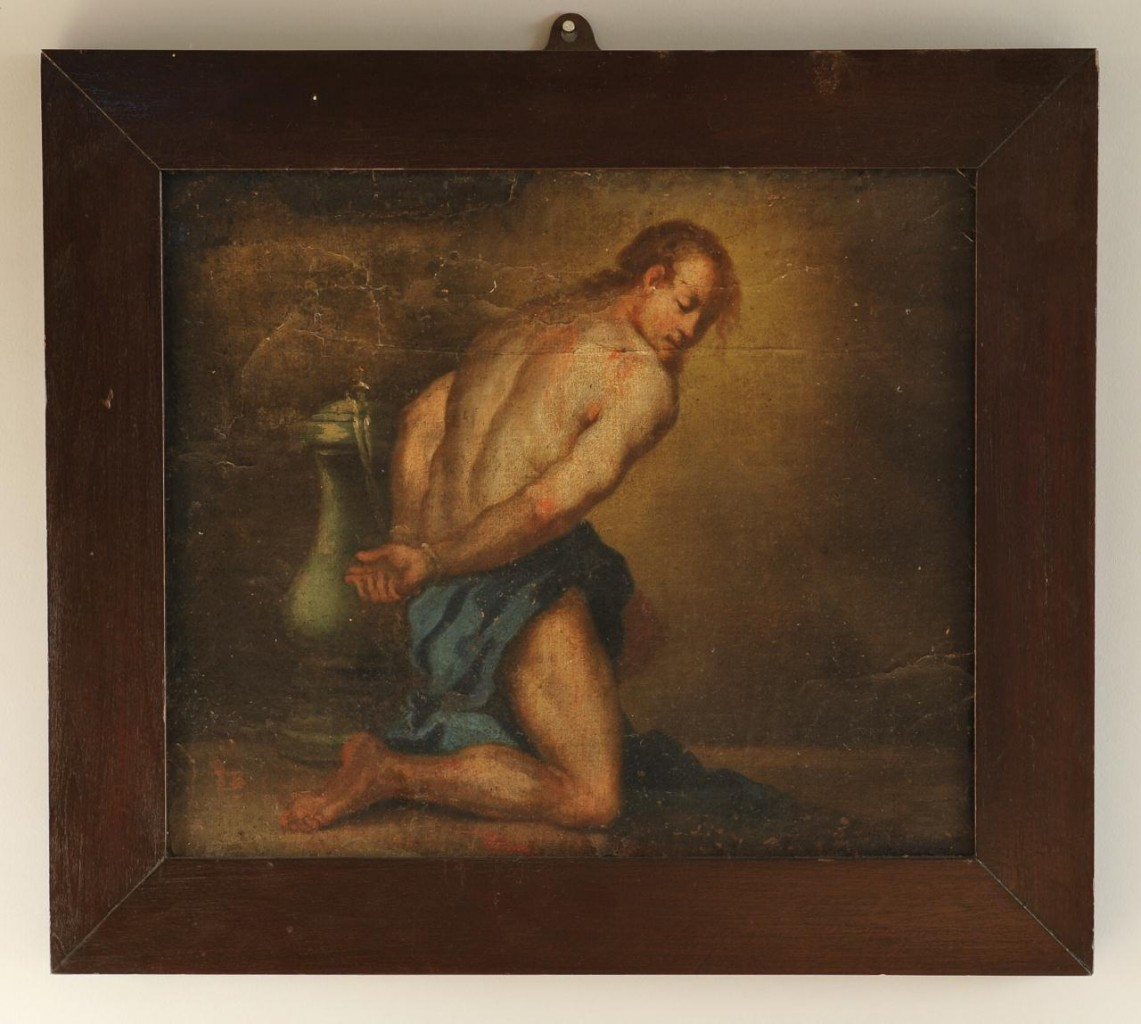 Lot 531: Flemish School, Man in Bondage, 18th century