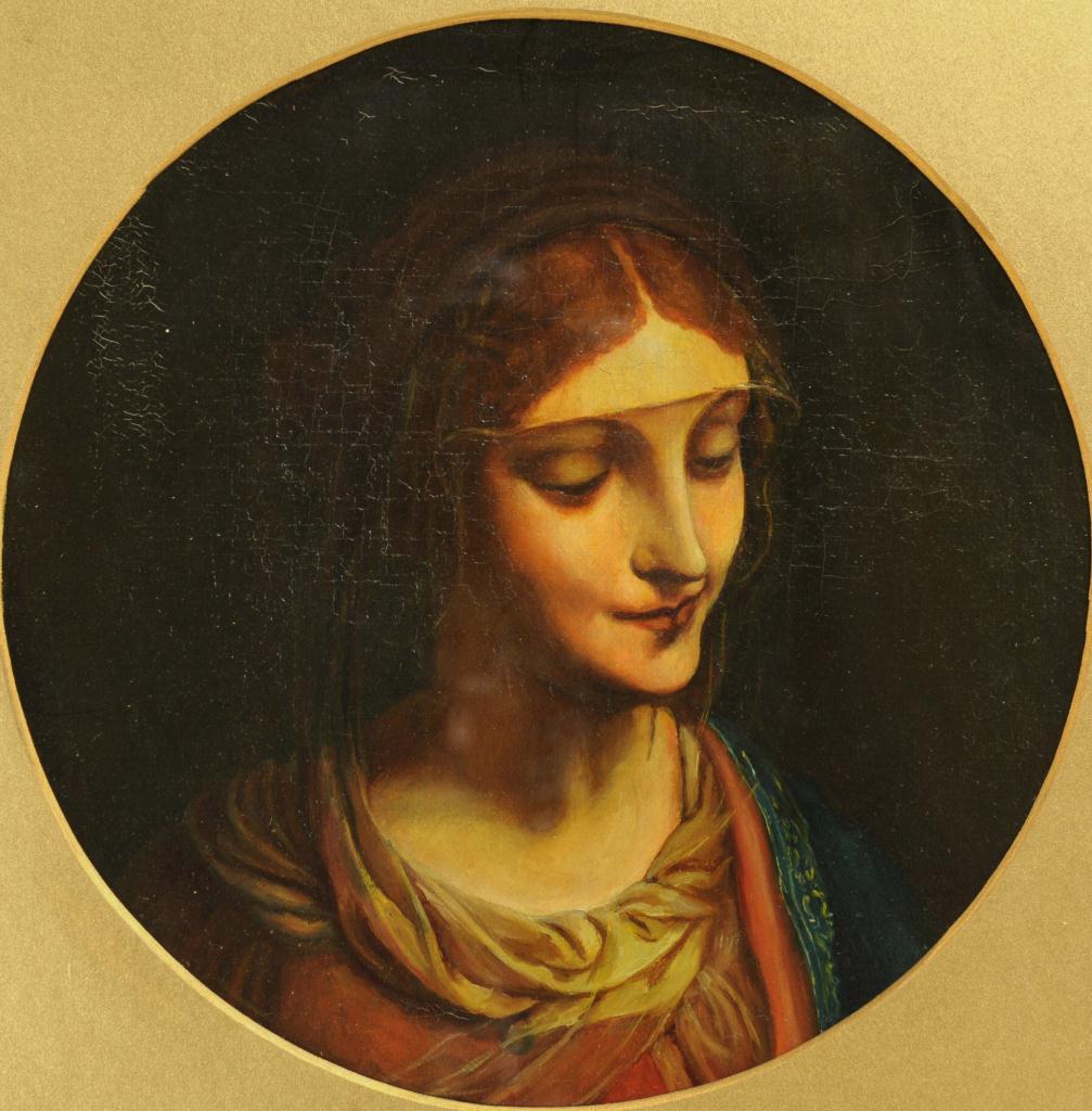 Lot 534: Italian School, Mary Magdalene, 19th c. o/c
